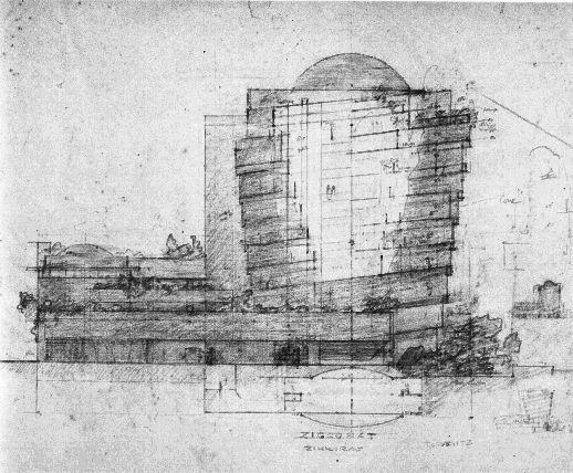 Guggenheim Progetto Del 1937 Realizzato Nel 1943 Nyc