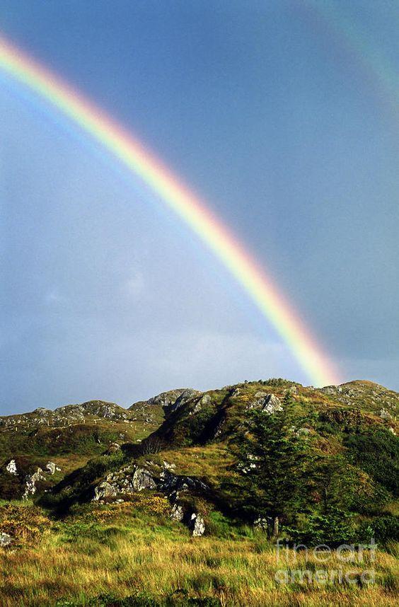✮ Irish Rainbow, County Clare, Ireland