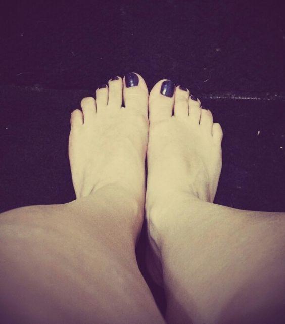 Meus pés vão tocar seu chão!