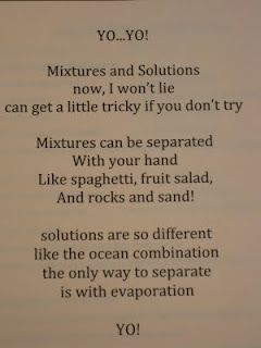 How would you start an essay about Mixtures?