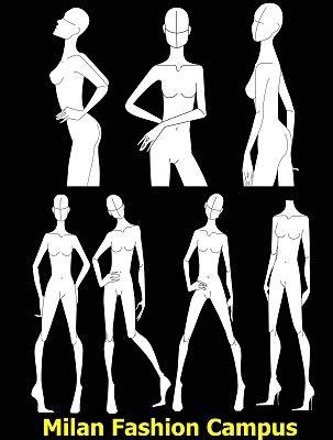 Amazon.com: Figure Poses for Fashion Illustrators: Scan, Trace