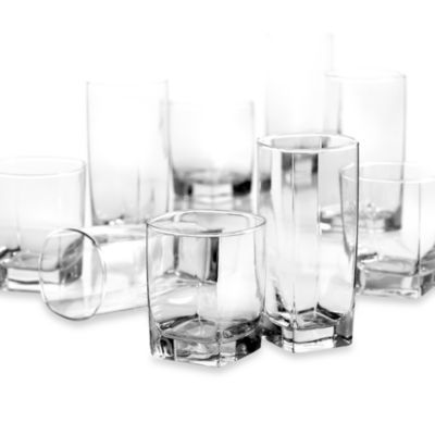 Luminarc® Sterling 16-Piece Glassware Set - BedBathandBeyond.com