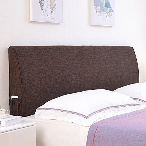 Wenzhe Upholstered Headboard Bedside Cushion Pads Bed Cover Soft