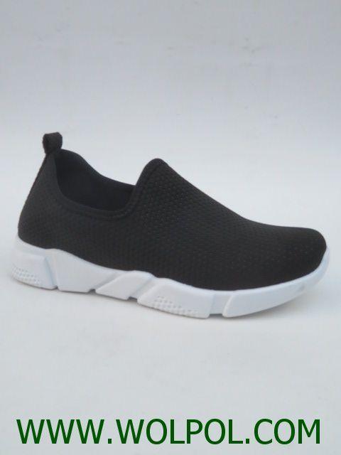Obuwie Sportowe Damskie 78005 Black 36 41 Slip On Sneaker Shoes Shoe Addict