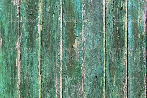 weathered door | Aged weathered green wooden paint door texture background —Photo by ...