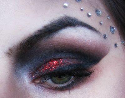 Super fun Halloween make up Vampire Look_part 1