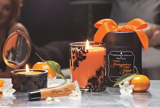 Verführerische Mandarine, der neue Duft unserer Kollektion Verbotene Früchte!  / Mandarine mutine, la nouvelle fragrance Fruits Défendus!