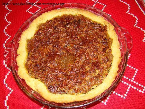 Pecan Pie – Torta de Noz Pecan, perfeita!!!!