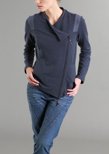 Terryjacke LANIUS Onlineshop H/W 14 asymmetrische Jacke
