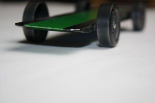 Pinewood Derby Car Kit 3 Wheel Rail Rider Derby Car Kit Physics Lecture