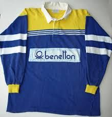 Blue and yellow rugby -early 90's