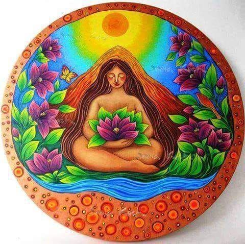 sumak kawsay el buen vivir | Dibujos de la pachamama, Arte pagano ...