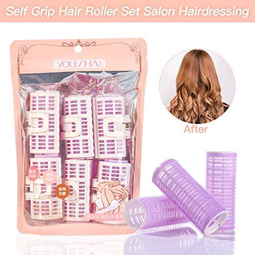 Yousha Lady Plastic Hair Roller Curlers Clips Diy Hair Styling Rollers Spiral Yousha Lady Plastic Hair Roller Hair Rollers Plastic Hair Rollers Diy Hairstyles