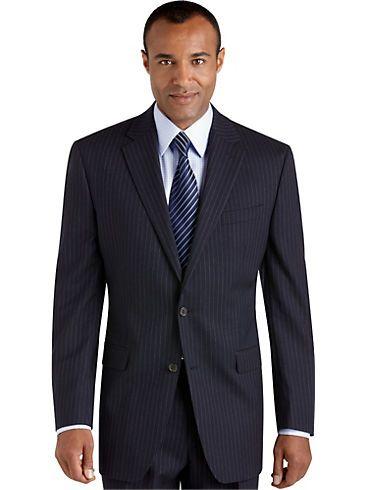Suits & Suit Separates - Lauren by Ralph Lauren Navy Pinstripe