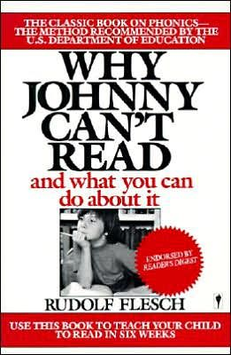 """The publication of this book in the 1950s became a bestseller.  Contradicts the premise that education was all honky-dorry then, but now it's getting all sorts of bad press.  """"""""Everything Is Hunky-Dory"""" was one of them. Of course, this was sheer denial, and Flesch said so. Things were bad then, a fact as demonstrable as anything in educational research. They are worse today"""" (Hager)."""