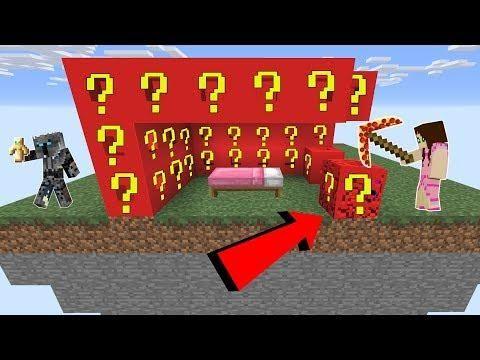 Minecraft Roblox Lucky Block Bedwars Modded Mini Game Mini