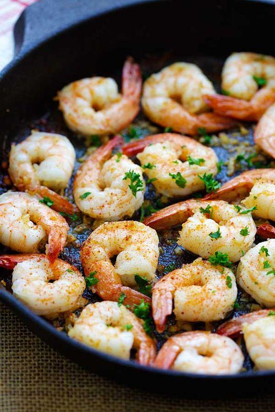 Quick shrimp recipes, Butter and Shrimp recipes on Pinterest