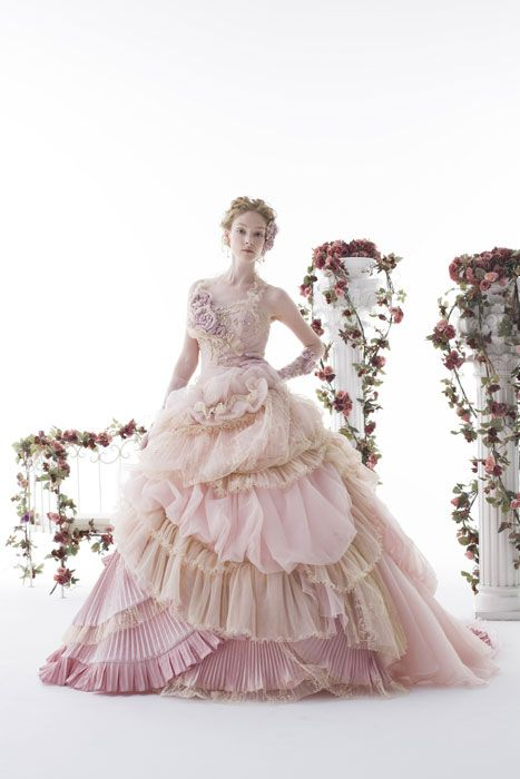 Stella de Libero. If I have a do over wedding. This would ne my dream dress. I don't want white for me.