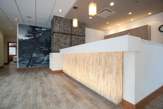medical reception design | medical office – obstetrics and family