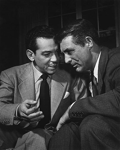 Cantinflas & Cary Grant....to movie icons from two separate but not so distant worlds...