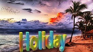 Urlaub, Ferien, Strand, Aussicht, Sommer