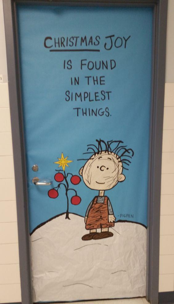 Pigpen Charlie Brown Christmas Hall Teacher Workroom
