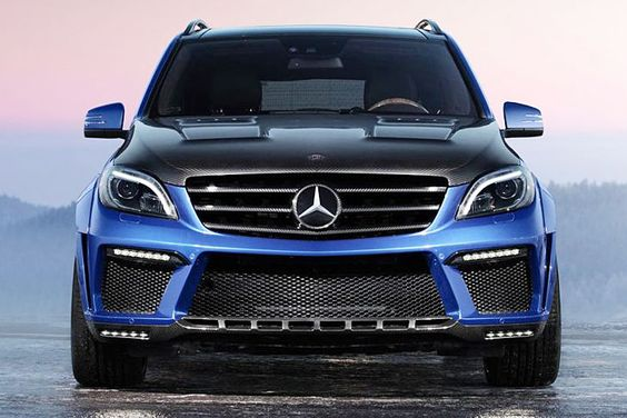 Mercedes-Benz ML 63 AMG 760 PS (749,59 hp)  by #Topcar #mbhess #mbcars #mbtuning