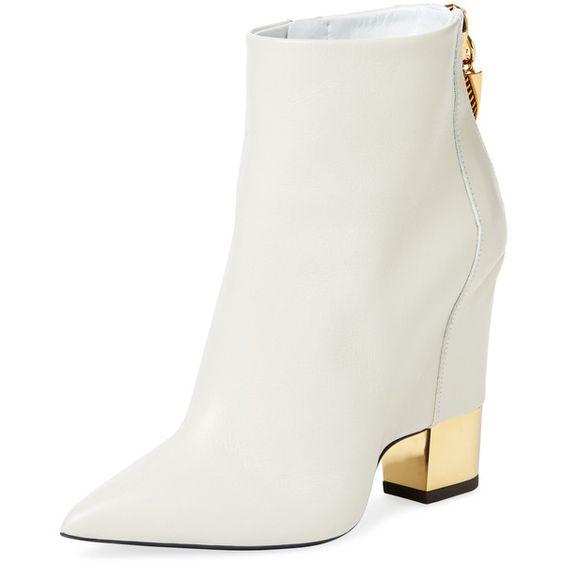 giuseppe zanotti white boots