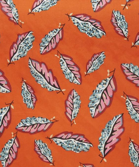 Woven Leaves Tana Lawn Cotton