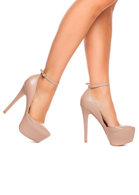 Nude platform pumps | Shoes Shoes Shoes! | Pinterest | Pump ...