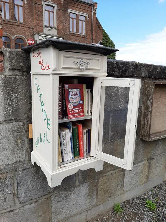 Boîte à livres Beaumont