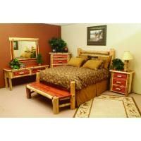 Lodge Furniture: Living Room; Dining Room, Bedroom; Lighting