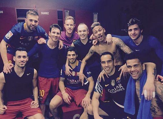 Grande equipo!!! Líderes! A disfrutarlooo y a seguir!!!
