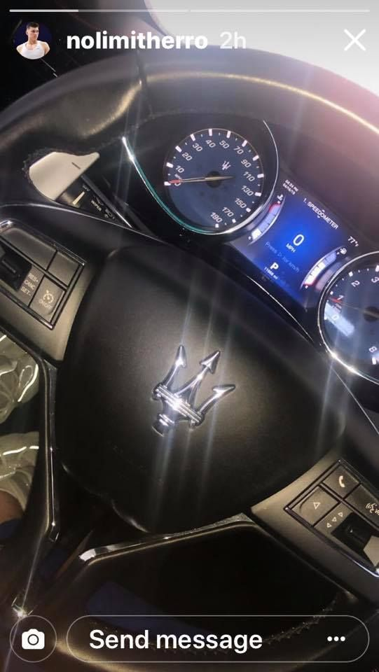 Is Tyler Herro Driving A Maserati With Images Maserati
