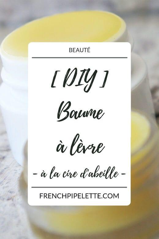 Diy Baume à Lèvre à La Cire D Abeille Baume à Lèvres Baume à Lèvres Maison Recette Baume à Lèvre