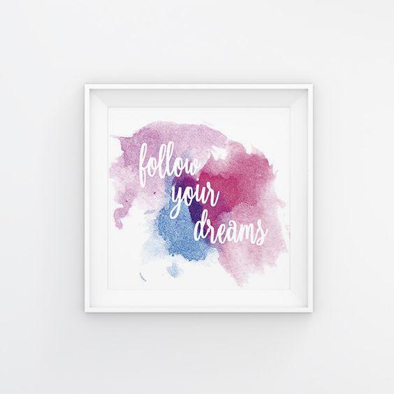 #followyourdreams #dreams #sonhos  #quote #casa #interiores #decoração #decor #poster #quadro