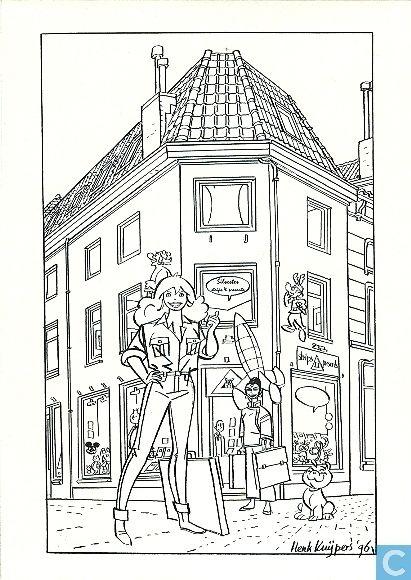 Carte postale - Franka - Franka en Silvester