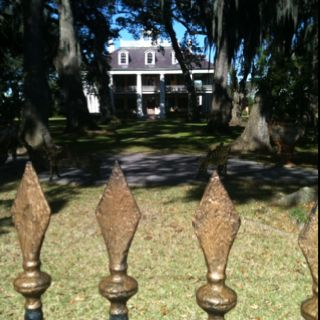 Beautiful and historic Houmas House Plantation in Darrow, Louisiana.
