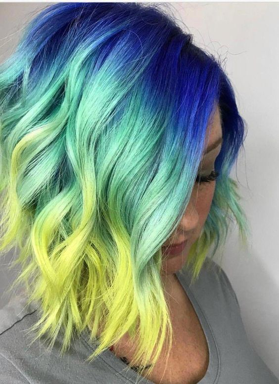 47 Vivids Hair Color Ideas Worth Trying Seerayrun Com Hair Styles Vivid Hair Color Edgy Hair Color