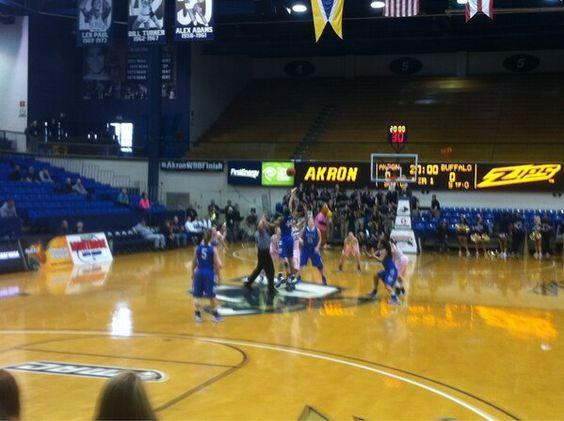 #ZipsGameday Photo Akron Zips Women's Basketball vs. Buffalo Bulls #Finish