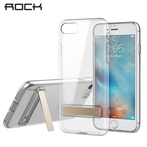 Goodtrade8 Gotd Shockproof Clear Case With Hoder Kickstand For Iphone 7 Iphone Iphone 7 Plus Cases Iphone 7