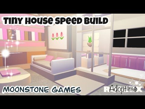 Adopt Me Modern Tiny House Speed Build Adopt Me Modern House Roblox Aesthetic Home Youtube Modern Tiny House Modern House Cute Room Ideas