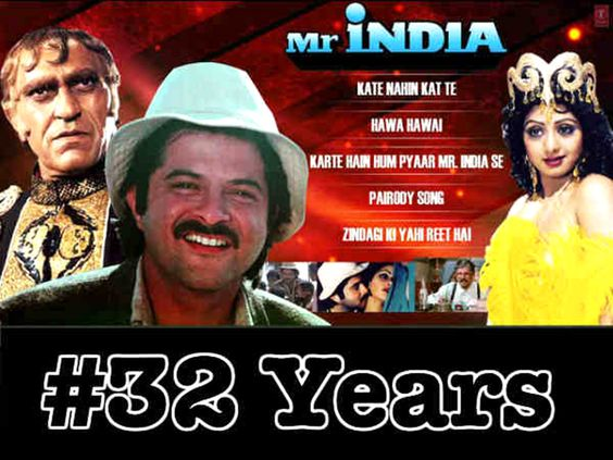 32 years of Mr. India – The Invisible Superhero and Invincible Masterpiece