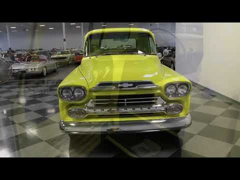 Classic 1959 Chevrolet Apache For Sale 2112879 24 995 Concord