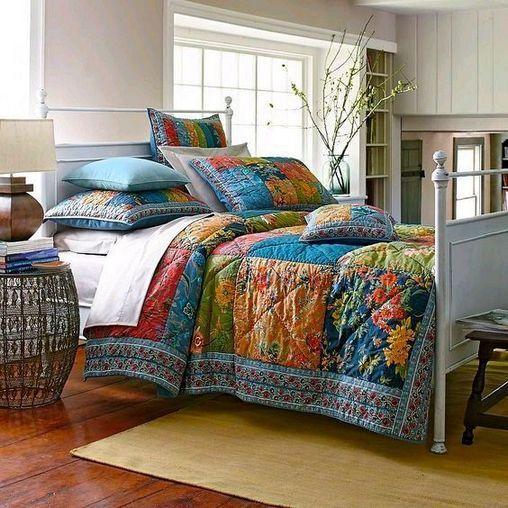 Jewel Tone Bedroom Decor, Jewel Tone Bedding