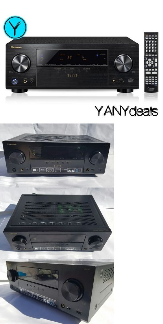 Home Theater Receivers: Pioneer Elite Vsx-43 7.1 Channel Networked ...