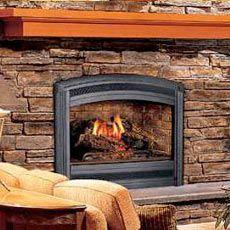 Lennox Lss 35cn Natural Millivolt 35 Spectra Series Top Direct Vent Gas Fireplaces H0376