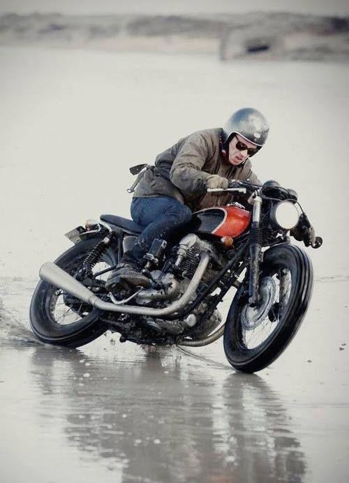 Go! #riding #motorcycles #motos | caferacerpasion.com