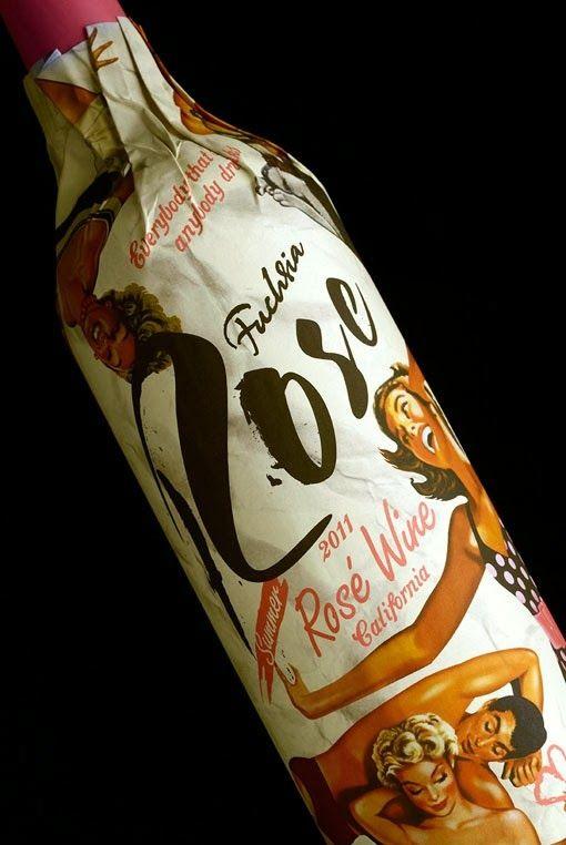 Etiquetas de vino con gusto tipográfico #lettering #tipografía #packaging #wine