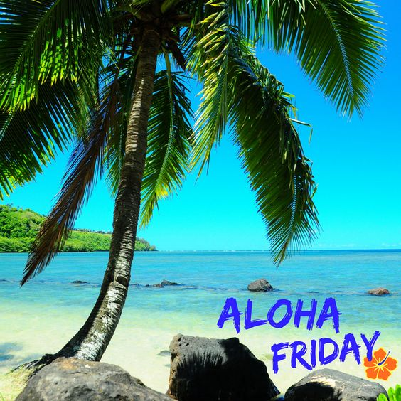 Aloha Friday Everyone! Welcome to a little piece of Paradise! Come to our delightful island of Kauai . . . our Aloha is second to none! Enjoy our breathtaking Beaches, Canyons & Waterfalls! #AlohaFriday #Kauai #Paradise